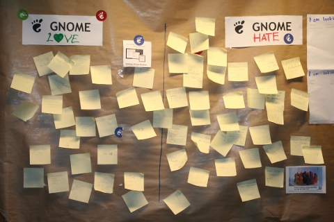 Gnome love and hate